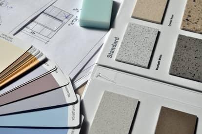 Colour Selection in Bendigo with porcelain tiles