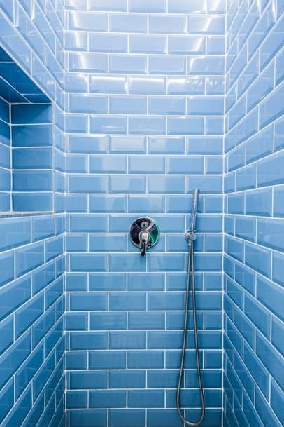 Bathroom tiling job we completed in Shepparton