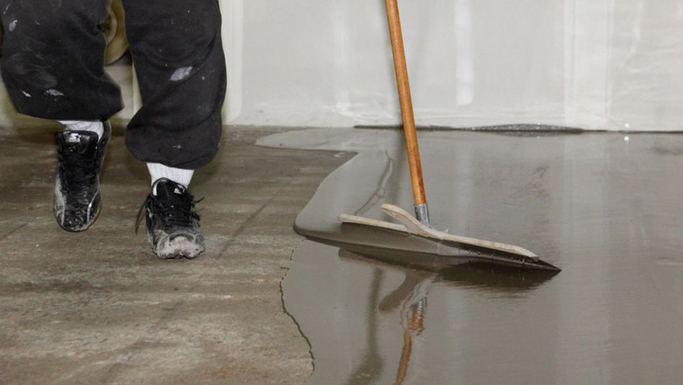 Floor levelling and screeding job we completed with concrete cement (1)
