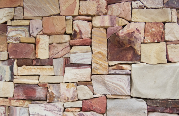 Stone tiles we used on our exterior wall tiling job (1)